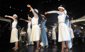 Tanz-Migranten