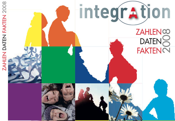 Jahrbuch Integration 2008 - Cover