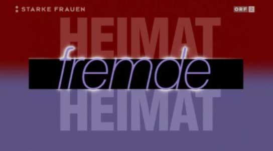 Heimat Fremde Heimat im TV (Logo)