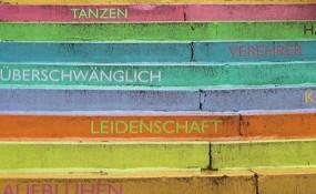 Interkulti Treppe in Wuppertal (Deutschland)