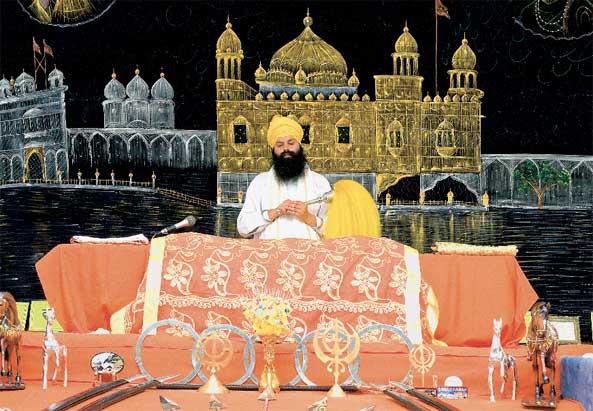 Sikh im Tempel - ©Farzad Dadgar