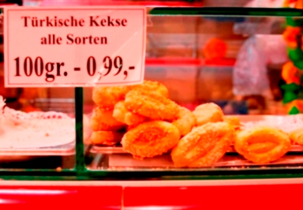Türkische Kekse © Milagros Flener