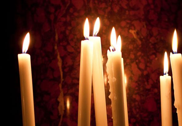 Brennende Kerzen - ©Mili Flener