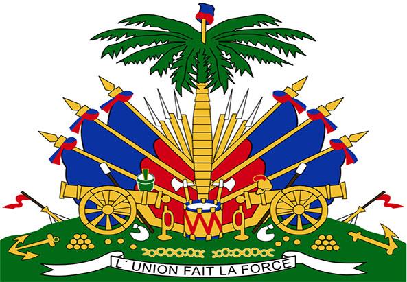 Die Wappen von Haiti