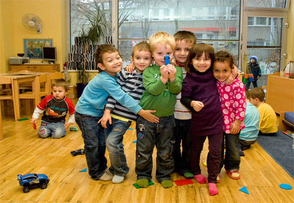 Ein Kindergarten in Wien - ©Farzad Dadgar