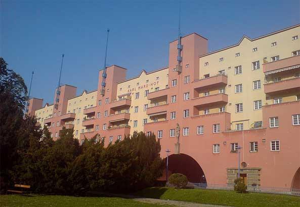 Gemeindebau Karl-Marx Hof - ©privat