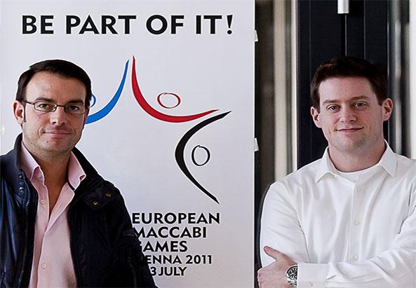 Für Österreich: Raphael Sternfeld im Golf und Jair Zelmanovics im Tischtennis (von links) - © Milli Flener