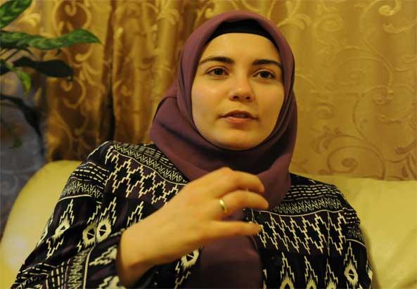 Dudu Kücükgöl im Interview mit Nermin Ismail - ©Asma Aiad