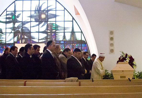 Begräbnis von Hakan Eskiöncü - © Milagros Flener