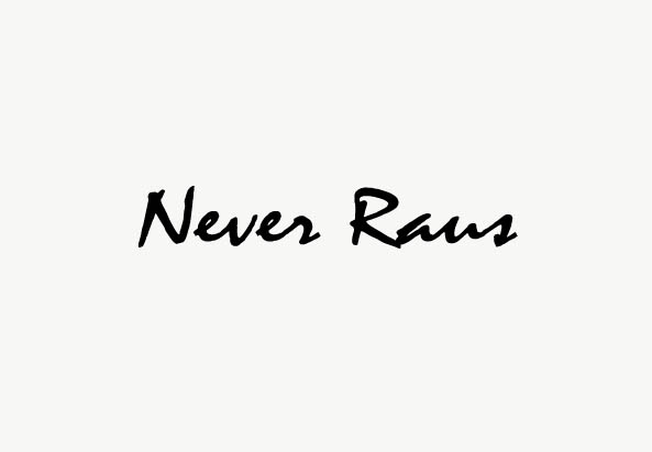 """Never Raus"" von Mara Niang"