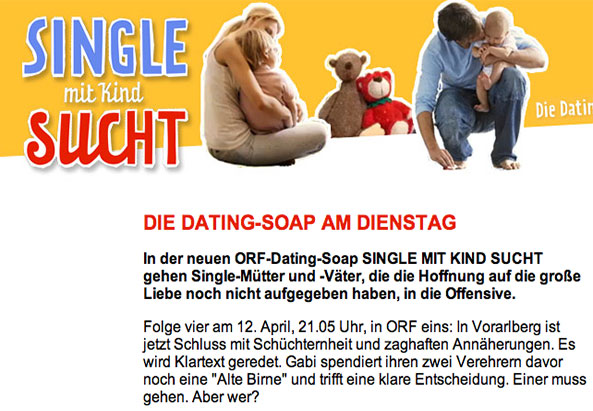 Single mit Kind - ©Homepage