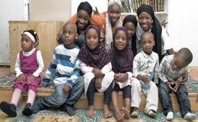 Muslimische Kinder in  Wien - ©Farzad Dadgar