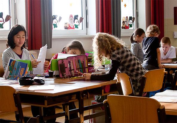 In einer wiener Schule - ©Mili Flener