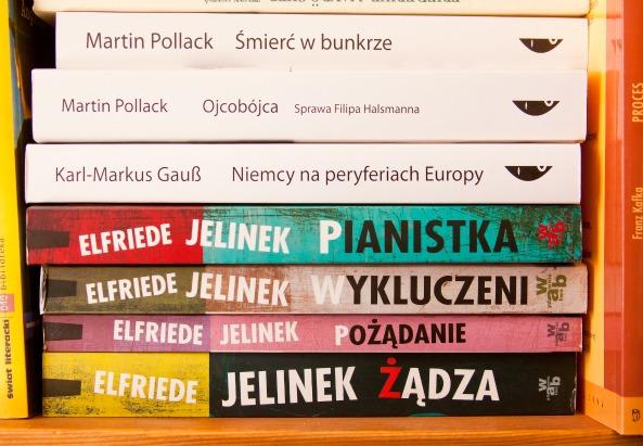 Bücher in der polnischen Buchhandlung - ©Mili Flener