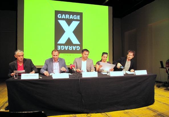 Pimp-My-Integration Pressekonferenz - v.l.n.r: Hikmet Kayahan, Mailath Porkony, Ali. M. Abdullah, Asli Kislal, Klaus Werner-Lobo