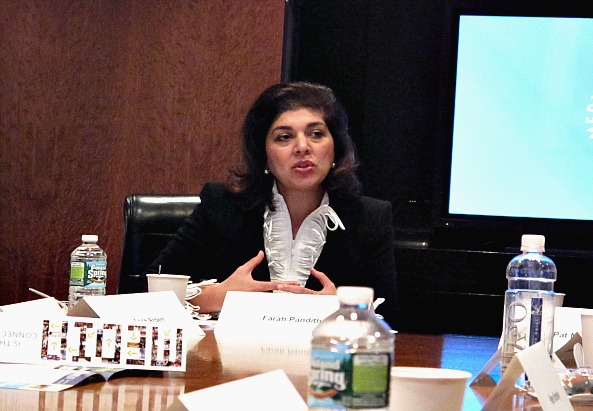 Farah Pandith, Special Representative to Muslim Communities for the U.S. State Department - ©simon INOU