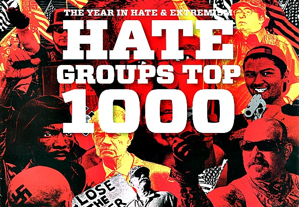 Cover of the U.S. Hate Report 2010 - ©splc