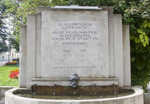 Gedenkbrunnen in Klosterneuburg (c) M. Flener