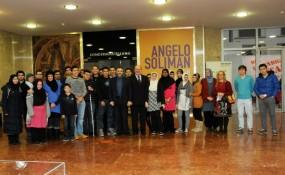 Muslime bei Angelo Soliman Ausstellung