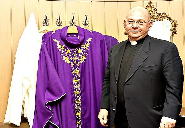 Krzysztof Kaspere der Polnischen Kirche in Wien