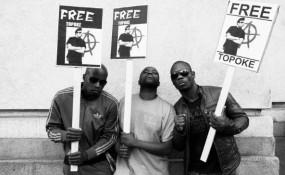 Einige Aktivisten bei der Freetopoke Demonstration - ©Oliver Jiszda