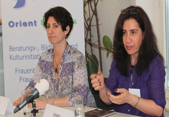 Die Pressekonferenz bei der internationalen Tagung in Wien - ©orient-express