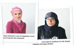 Kopftuch als Modeobjekt - ©Asma Aiad