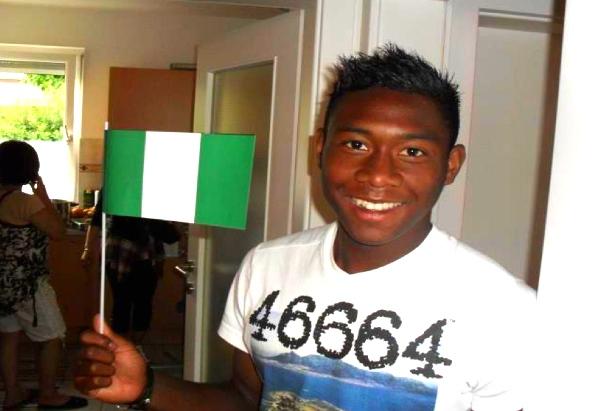 Der österreichische Kicker David Alaba ist auch sehr stolzer Nigerianer - ©Oluyemi Ogundele