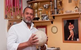 Mohammed Rahman, Ex Volleyball Nationaltrainer - ©Mili Flener