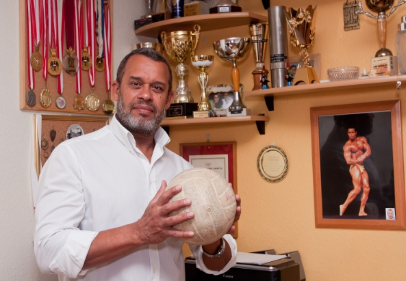 Mohammed Rahman, Ex Volleyball Nationaltrainer - ©Mili Flener