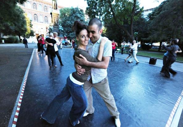 Die Tanzlehrer Aiala Gonzales und Kenan Askan - ©Asma Aiad