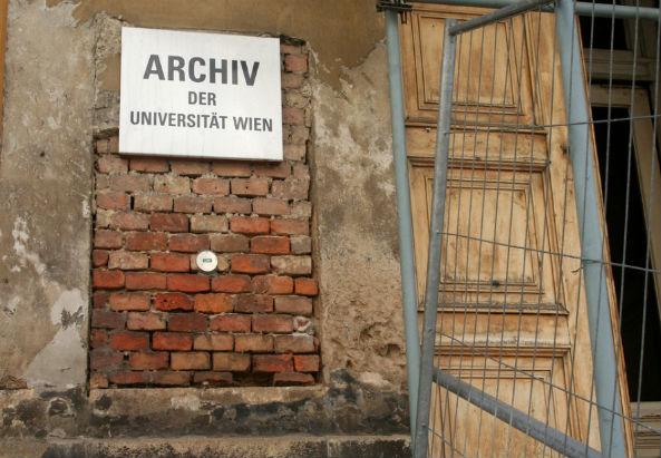 Archives university of Vienna - ©flickr.com/dugspr