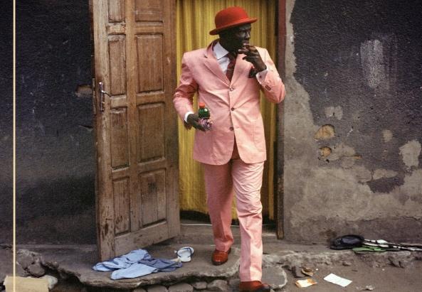 Sapeur-Mode-Cover Alain Mabanckou - ©liebeskind