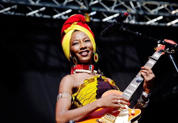Fatoumata Diawara in Stockholm in 2012 - ©goglocalmag.com/annika-berglund