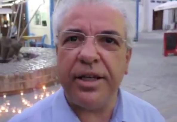 Savvas Philippou, stv. Generalsekretär der Grünen in Zypern
