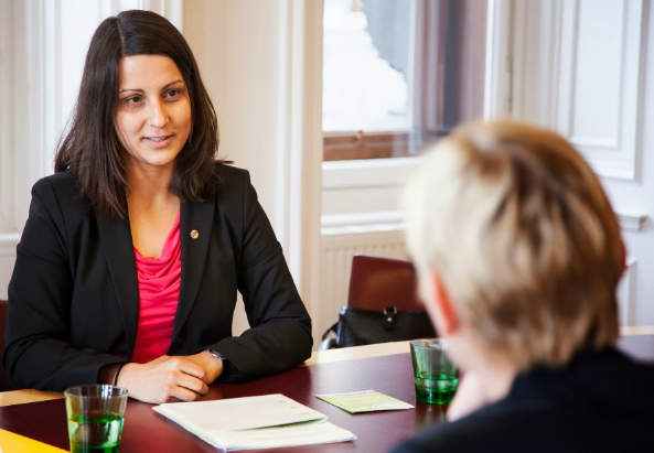 Ergebnisdiskussion bei Integrationsstadträtin Sandra Frauenberger. Foto VWFIMagdalena Possert