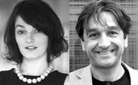 v.l.n.r.: Magdalena Zelasko und Wolfgang Schwelle, Festival DirektorInnen von Let´s Cee Film Festival - ©Privat