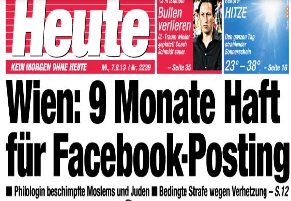 IslamHasserin - ©Screenshot, Tageszeitung HEUTE