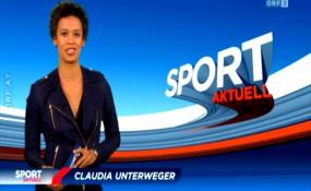 Claudia Unterweger bei der Moderation