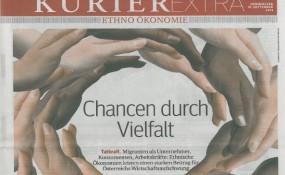 Cover der Kurier Beilage