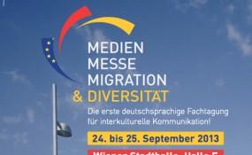 Medien.Messe.Migration & Diversität 2013 - Das Flyer