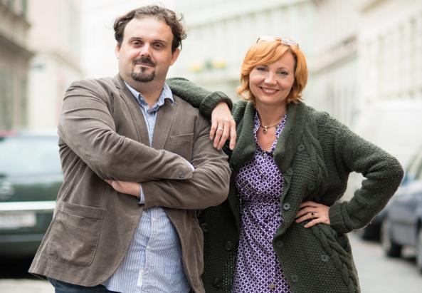 Die neue Führung von BUM MEDIA GmbH: Dino Sose und Svetlana Ilic