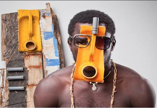 Mask von ©Serge Clottey