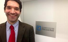 Alexander Warzilek, Geschäftsführer des Österreichischen Presserates