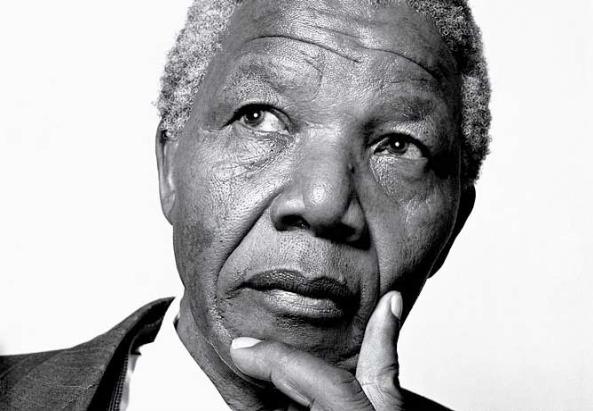 Nelson Mandela - nelson-mandela-BlackWhite