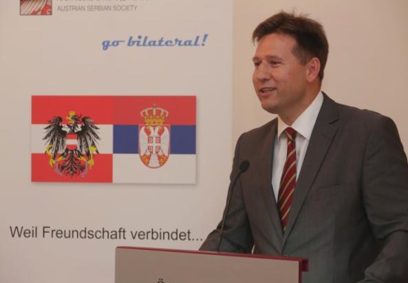 """Buchpräsentation der ÖSG  """"Auf den Spuren der Serben Österreichs"""" © Österreichisch-Serbische Gesellschaft"""