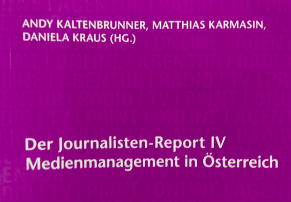 Cover der Ausgabe Journalisten-Report IV