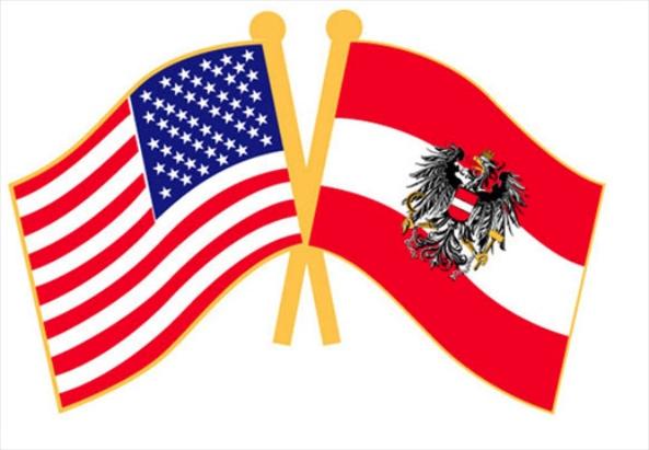 Symbol picture - FLAG-US-AUSTRIA