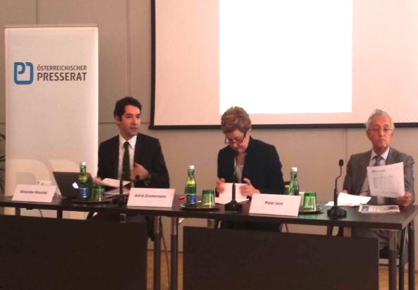 Pressekonferenz des Österreichischen Presserats, 2014