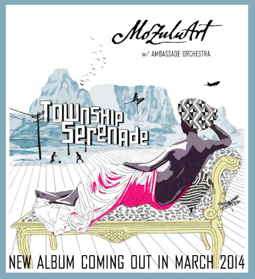 "CD Cover ""Township Serenade"""